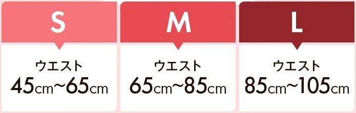 プリンセススリムのサイズ表の画像
